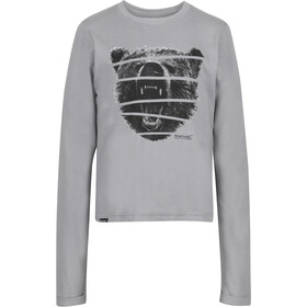 Regatta Wendell Langarm Shirt Jungs rock grey